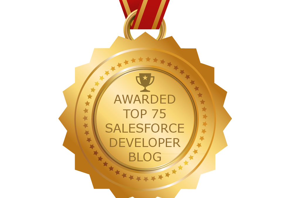 Miraforce In The Top 75 Salesforce Developer Blogs