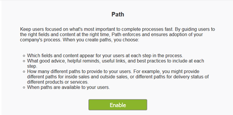 How to Enable Path
