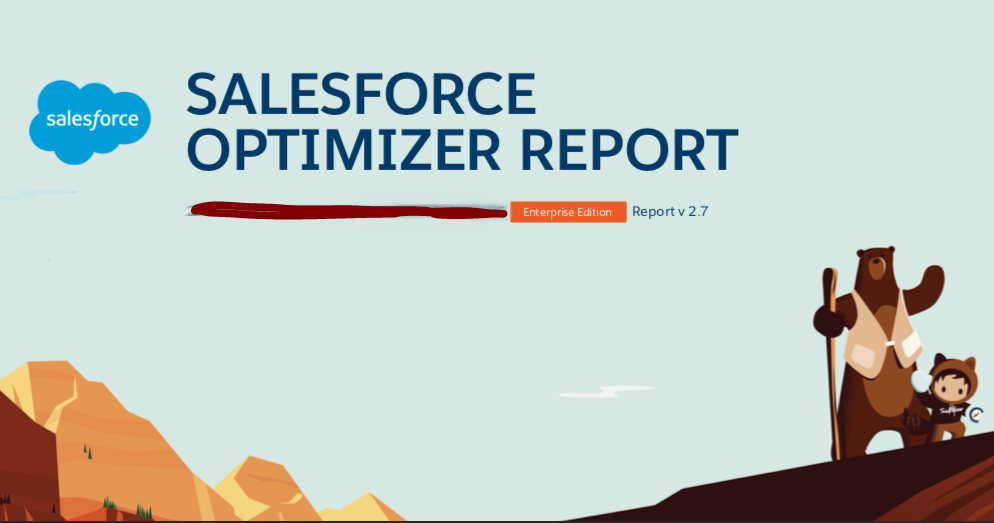 Run Salesforce Optimizer Report