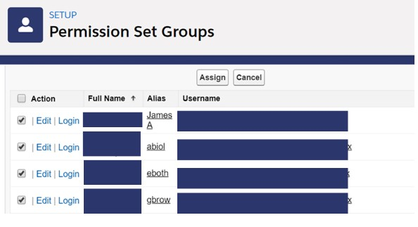 Add Assign Permission Set Groups