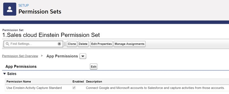 Salesforce Permission set