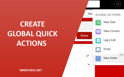 Create Global Quick Actions in Lightning