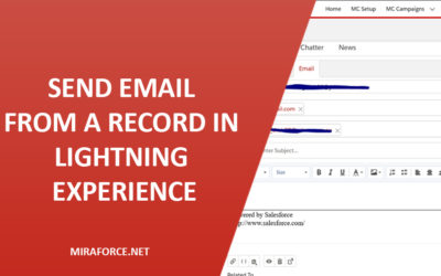 Send Email from a Record in Lightning Experience