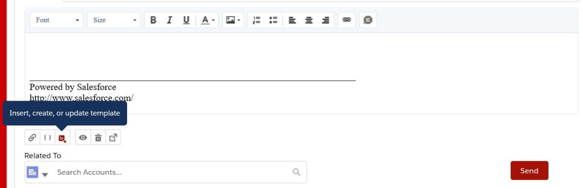 Send Email from a Record in Lightning Experience Attach File
